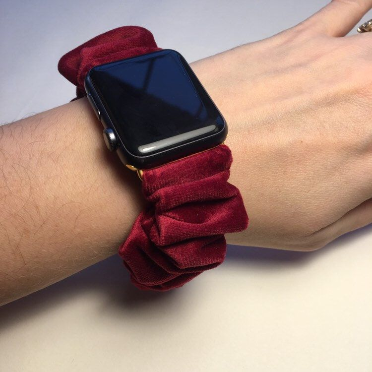 scrunchie apple watch bands